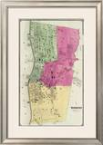 Yonkers, New York, c.1868 Framed Giclee Print by Frederick W. Beers