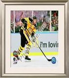 Zdeno Chara 2010 NHL Winter Classic Framed Photographic Print