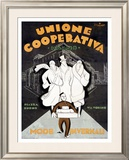 Unione Cooperativa Framed Giclee Print by Noel Fontanet