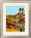 Isle of Skye Framed Giclee Print by J Torrington Bell