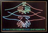 Big Welcome Prints by Bruce Nauman