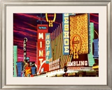 Fremont Street, Las Vegas, Nevada Prints by Mitchell Funk