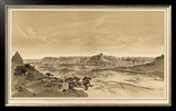 Grand Canyon: the Temples and Towers of the Virgen, c.1882 Framed Giclee Print by William Henry Holmes