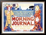 Morning Journal Framed Giclee Print by Louis John Rhead