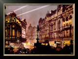 LNER Railway London Framed Giclee Print by Fred Taylor