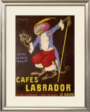 Cafes Labrador Framed Giclee Print by Leonetto Cappiello