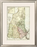 New Hampshire, c.1796 Framed Giclee Print by Daniel Friedrich Sotzmann