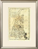 State of New Hampshire, c.1795 Framed Giclee Print by Mathew Carey