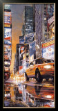 Times Square Perspective II Poster by Matthew Daniels