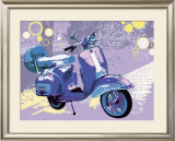 Vintage Vespa Prints by Michael Cheung