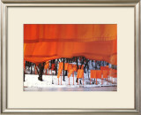 The Gates, New York Print by Christo 