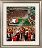 Texas Memorial Stadium University of Texas Longhorns 2009 Framed Photographic Print