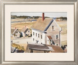 House By 'squam River, Gloucester (cape Ann, Massachusetts), 1926 Poster by Edward Hopper