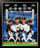 New York Yankees 2009 &quot;Core 4&quot; Framed Photographic Print