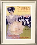 E&A Mele, Ombrellini Framed Giclee Print by Leopoldo Metlicovitz