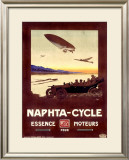 Naphta Cycle Framed Giclee Print by Walter Thor