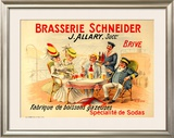Brasserie Schneider Posters by  Quendray