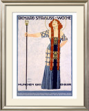Richard Strauss Woche Framed Giclee Print by Ludwig Hohlwein