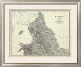 England, North Wales, c.1861 Framed Giclee Print by Alexander Keith Johnston