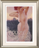 Flouvella Framed Giclee Print by Leopoldo Metlicovitz