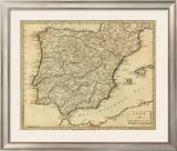 Spain, Portugal, c.1812 Framed Giclee Print by Aaron Arrowsmith