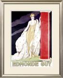 Edmonde Guy Framed Giclee Print by Umberto Brunelleschi