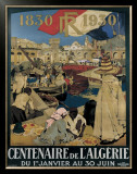 Centenaire en Algerie Framed Giclee Print by Leon Cauvy