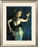 Dime a Dance Framed Giclee Print by Richie Fahey