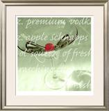 Appletini Limited Edition Framed Print by  Peterson