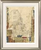 Streets of Downtown I Limited Edition Framed Print by Ethan Harper