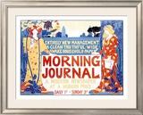 Morning Journal Framed Giclee Print by Louis John Rhead