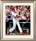 Jayson Werth - NL Championship Series Game 5 Framed Photographic Print