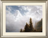 High in the Mountains Prints by Albert Bierstadt