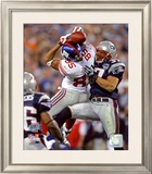 David Tyree SuperBowl XLII Framed Photographic Print