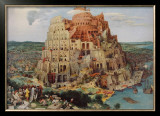 The Tower of Babel Posters by Pieter Bruegel the Elder