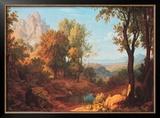 Midday, 1829 Posters by Johann Martin Von Rohden