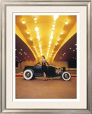 Pin-Up Girl: High Boy Elegance Framed Giclee Print by David Perry