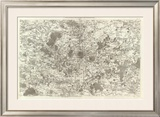 Paris, France, c.1762 Framed Giclee Print by Cesar-francois Cassini