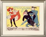Frou Frou Framed Giclee Print by Marcel Vertes