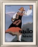 Varallo (Valesia) Framed Giclee Print by F Romoli