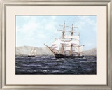 The Barque Annie Johnson Art by Henry Scott