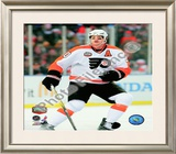 Chris Pronger 2010 NHL Winter Classic Framed Photographic Print