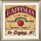 Happiness Poster by Brent Mcrae