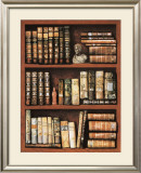 Library Prints by Libero Patrignani