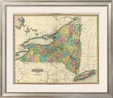 New York, c.1825 Framed Giclee Print by Henry S. Tanner