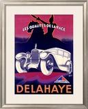 Delahaye Framed Giclee Print