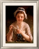 Secret Admirer Print by Emile Munier
