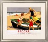 LNER, Redcar, 1936-1937 Framed Giclee Print by Leonard Cusden
