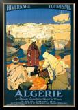 Algerie Framed Giclee Print by Leon Cauvy