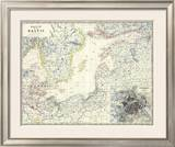 Baltic, c.1861 Framed Giclee Print by Alexander Keith Johnston